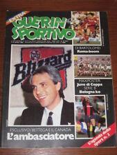 GUERIN SPORTIVO 1983/14 FILM CAMPIONATO BETTEGA COVER DI BARTOLOMEI CANTU'