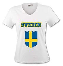 T-shirt Femme Suède - Sweden - du S au XL