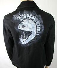 Burberry Men's London Black Canvas Mohawk Face Paint Jacket 4553388