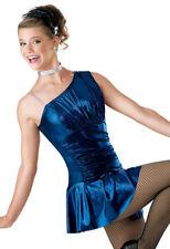 "NEW Weissman ""Edge of Glory"" Dance Costume Skate 5600 Child Adult Jazz Tap"