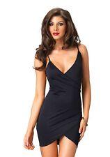 LAG Leg Avenue L086607 Damen Kleid Maria Clubkleid Sommerkleid Kurz schwarz