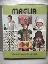 Manuale Abbigliamento MAGLIA Vol I Alfredo Valentini Editore 1978 Libro Manuale