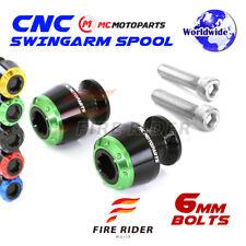 6mm Rear ATOM Swingarm Spools Sliders For Yamaha YZF R6 15-17 15 16 17