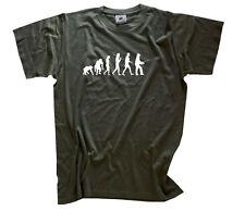 Standard Edition Angler I  Evolution angel angeln fischer KINDER T-Shirt 104-164