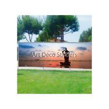 Brise vue déco imprimé pour jardin, balcon ou terrasse Tag Graffiti 9105