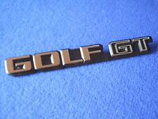 orig.Emblem Schriftzug Heckemblem VW Golf 2 GT Typ19E mk2 rabbit US bis Bj.1988