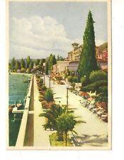 bellissima cartolina lago di garda gardone riviera