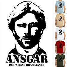 Ansgar brinkmann, t-shirt, fútbol de culto, S-XXL