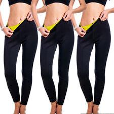 Hot Women Thermo Sweat Pants Neoprene Body Shaper Weight Loss Trousers Yoga Vest