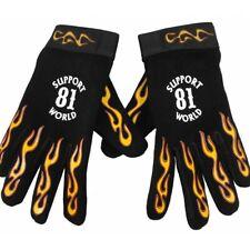 49 Handschuhe Hells Angels Support 81 Neopren-PolyLeder Mechanic Flames
