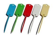 100 X Llave del Coche Etiquetas Self Corbata para identificar sus vehículos, motor de comercio, marcando las plantas