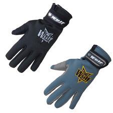Wulfsport 2018 NEW Neoprene Motorcycle Gloves Waterproof Black Gray