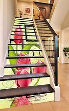 3D Tulip Painting 648 Risers Decoration Photo Mural Vinyl Decal Wallpaper CA