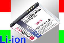 batteria per LG KP500  COOKIE KP501 KP500 Li-ion 950mAh