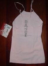 NWT Adjustable strap Camisole Pink Rhinestone CAPEZIO
