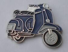 Blue Vespa Scooter Mod Quality Enamel Pin Badge