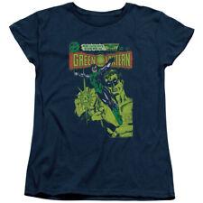 Green Lantern Vintage Cover Womens Short Sleeve Shirt