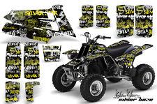 AMR RACING QUAD ATV GRAPHIC STICKER DECAL KIT YAMAHA BANSHEE YFZ 350 HAZE YELLOW