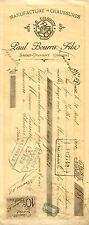 PAUL BOURRU chaussures à SAINT-DONAT 1902