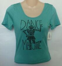 Womens AEROPOSTALE Tokyo Darling Dance Machine Crop Bodycon Tee NWT #4014