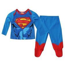 SUPERMAN pyjama 2 pièces bleu et rouge bébé 3-6 / 6-9 / 9-12 ou 18-24 mois NEUF