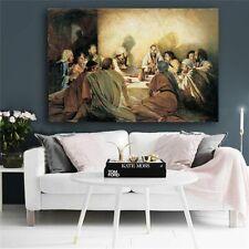 Last Supper Da Vinci Famous Oil Painting Canvas Scandinavia Nordic Art Picture