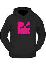 """"""" P!NK """" ROCKSTAR !  HOODIE  GREY BLACK    ... Alecia Moore PINK NEW  hoody"""