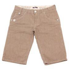 0494T bermuda bimbo jeans TAKE TWO pantaloni beige scuro pant short kid