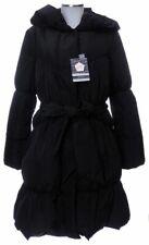 Guxy Daunenmantel schwarz 40 42 (D) piumino doudoune down coat neu mit Etikett