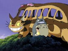 My Neighbor Totoro Catbus Cat Bus Anime Manga Huge Giant Print POSTER Plakat