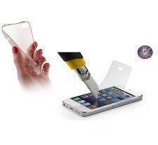 ^ silicona funda ultra slim transparente sólo 0,3 mm + lámina de tanques para LG