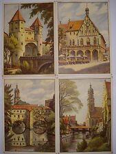 Amberg Stadtbrille Rathaus Nabburger Tor Basilika S. Martin Hermann Lenz 1940