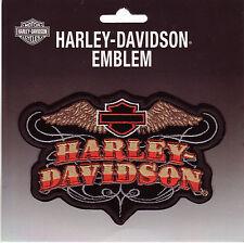 Harley Davidson Modelo Parche Número 20 Oeste Style Tamaño aprox. 13,0 cm de 8,5
