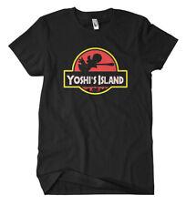 Yoshis Island T-Shirt Gamer Fun Konsole Super Mario Luigi Wario Koopa Zocken