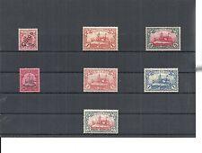 Kiautschou, Deutsche Kolonien 1900, Einzelmarken aus MiNrn: 1 - 37 *,ungebraucht