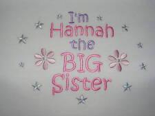 I'm The Big Sister T-Shirt - può essere personalizzato