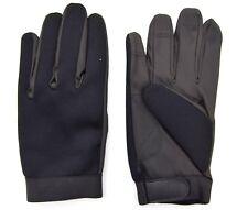Full Black Tactical Neoprene Gloves Skin Tight SAS / SF Style Shooting Fishing