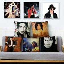 Super Star Michael Jackson Print Cushion Cover Pillows Cases Sofa Home Decor