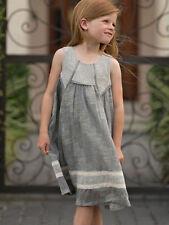 Isobella & Chloe Darcy Knit Black and Ecru Girls Party Dress Size 2T-6 NWT