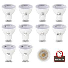 Sparset Dimmbare GU10 LED Leuchtmittel Spot Lampe Strahler Birne Licht 6 watt