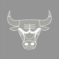 Chicago Bulls #3 NBA Team Logo 1Color Vinyl Decal Sticker Car Window Wall