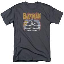 Batman Foggy Classic DC Comics Licensed Adult T Shirt