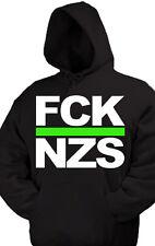 FCK NZS kapu Pullover Anti Nazi Oi GNWP Punk AFA Gegen Nazis ARA 163 HC Skin Ska