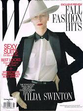 W Magazine 8/2011 TILDA SWINTON Karen Elson DAPHNE GROENEVELD Lindsey Wixson EXC