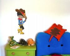 Cooler Cowboy Wandtattoo Wandaufkleber Kinderzimmer  6 Größen