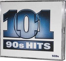 101 Nineties Hits 5 CD of 1990s Tracks Original EMI Music Song Recordings