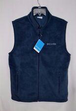 Columbia Men's Flattop Mountain Navy Fleece Vest - Size S XM1386-466