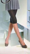 Damen Capri Leggings 60 DEN einfarbig aus Mikrofaser 60 DEN S-L div. Farben