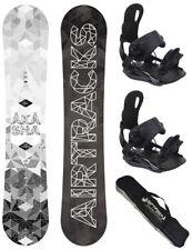 Set de Snowboard Airtracks Akasha Wide + Fixation Étoile ou Master + Sb Sac /