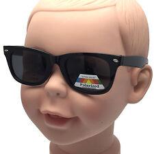 Polarized Kids Children Junior Sunglasses Small Face Wayfarer Fishing Anti Glare